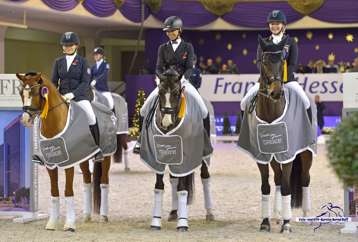 Siegerteam DTM Dressage Team Masters